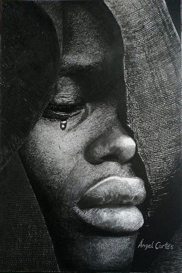 La lágrima de la novia. Angel Cortés