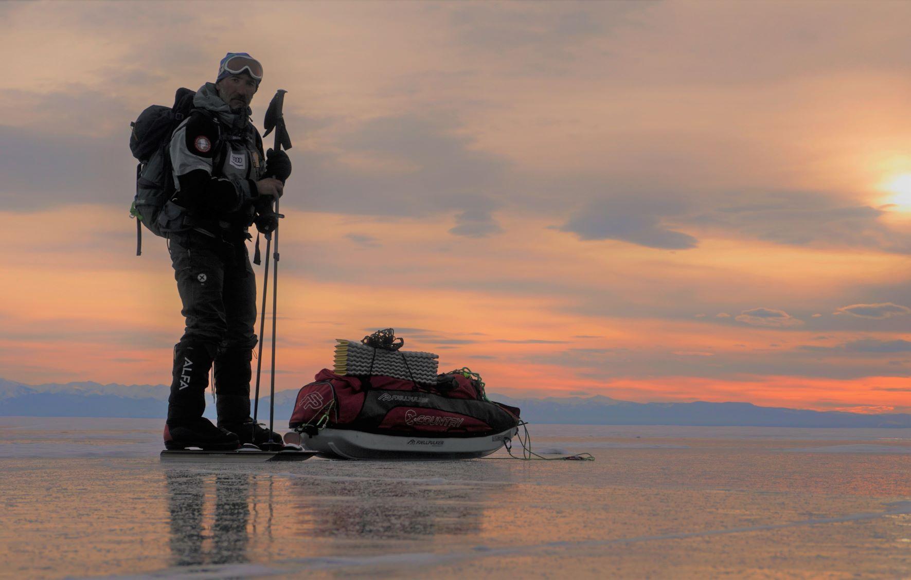 lago Baikal en solitario 480 kilómetros